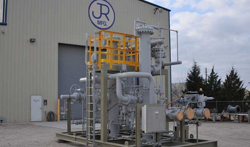 Onshore Fuel Gas Skid