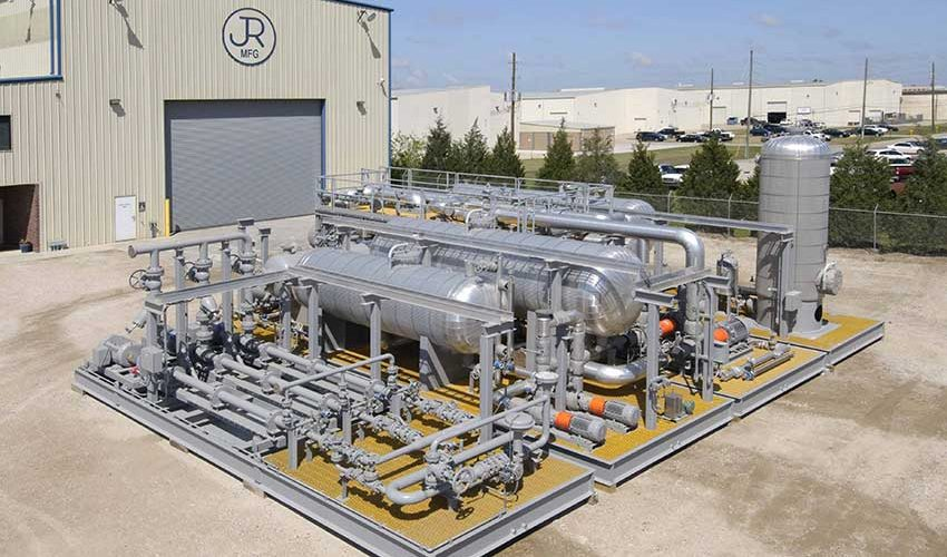 Midstream Amine Regen Skids